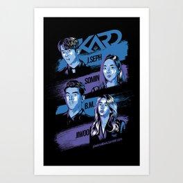 KARD - You In Me Art Print