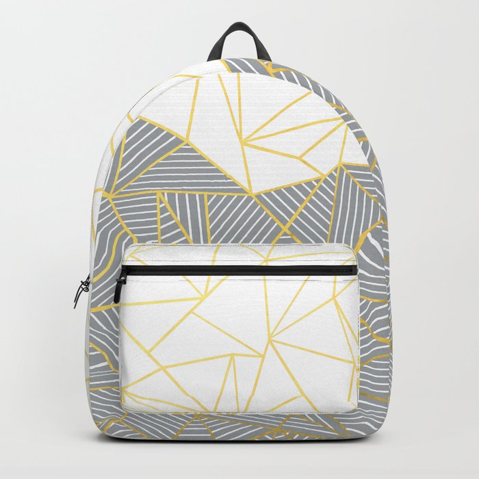 Ab Half and Half Grey Backpack