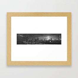 Toronto Skyline 1 Framed Art Print