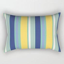 Sunny Beach Print Rectangular Pillow