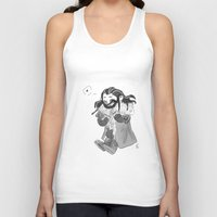 thorin Tank Tops featuring Smiling Thorin by Tona