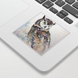 Vancouver Owl Sticker