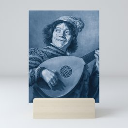 "Frans Hals ""The Lute Player"" Mini Art Print"