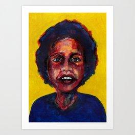 Nos étrangers 7 Art Print