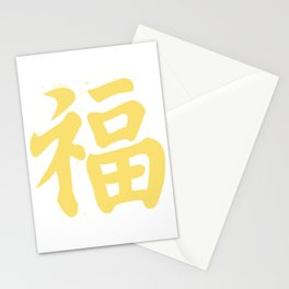 LUCK character Stationery Cards