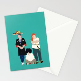 Kidnapping Caucassian Style Stationery Cards