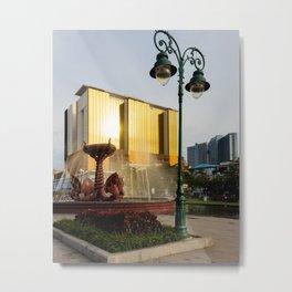 Naga Fountain Metal Print