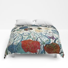 nature【Japanese painting】 Comforters