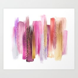 _OIL PALETTE Art Print