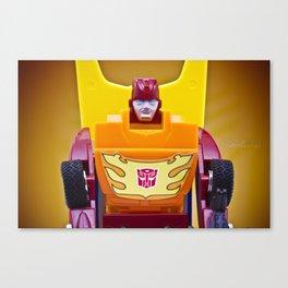 G1 Transformers Autobot Rodimus Prime Canvas Print