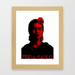 Frida Kahlo (Ver 8.2) Framed Art Print