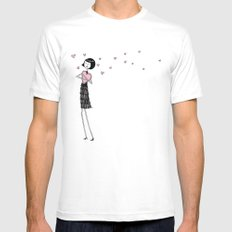 Eloise in love Mens Fitted Tee SMALL White