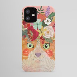 Ginger cat iPhone Case