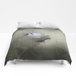 Little Tufted Titmouse Comforters