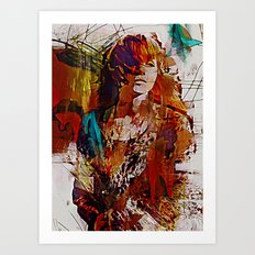 Myrrh Art Print