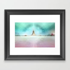 PLAYA III Framed Art Print