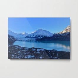 Tasman Glacier Valley Metal Print