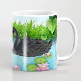 Heart of Swans #2 Coffee Mug
