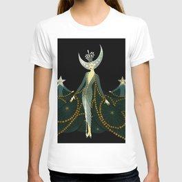 "Art Deco Design ""Queen of the Night"" T-shirt"