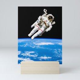 Astronaut Bruce McCandless Floating Free Mini Art Print