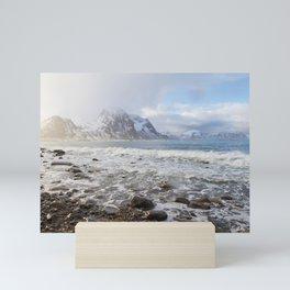Lofoten Beach Mini Art Print