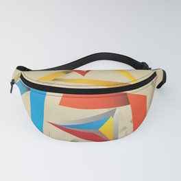 Abstraction – Pyramids Fanny Pack