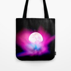 Nebula Moon Tote Bag