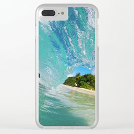 Dream Land Clear iPhone Case