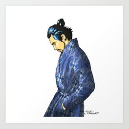 801 MODERN SAMURAI Art Print