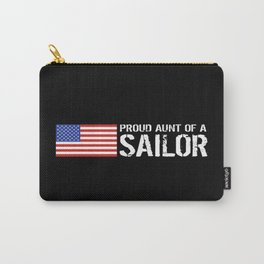 Proud Aunt of a Sailor Carry-All Pouch