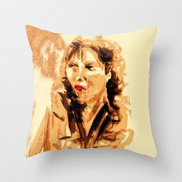 French Woman Throw Pillow
