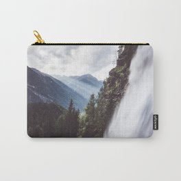 Behind Stuibenfall - Landscape and Nature Photography Carry-All Pouch