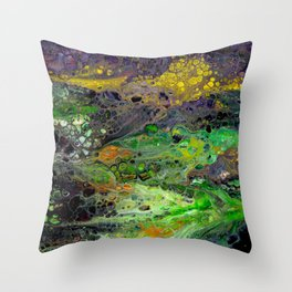 First Dip Throw Pillow