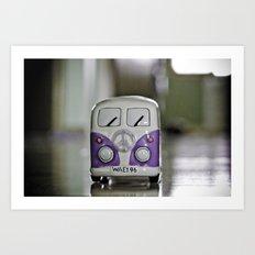 Purplewagen Art Print