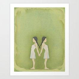 Sisters, Almost Art Print