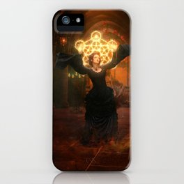 A philosopher's quest iPhone Case