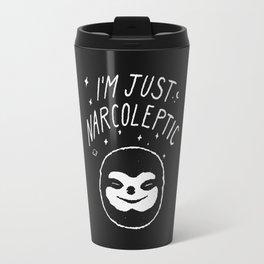 I'm Just Narcoleptic (Dark) Travel Mug