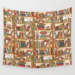 Bookshelf No. 1 Wall Tapestry
