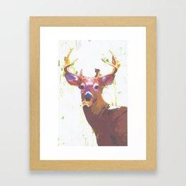 Deer 2 Framed Art Print