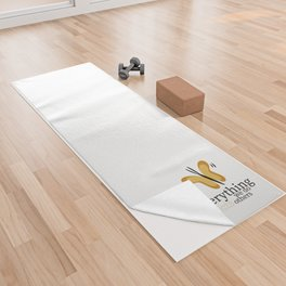 WISE BUTTERFLY Yoga Towel