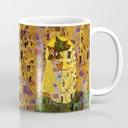 Kiss Klimt Cats Coffee Mug