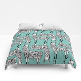 Llama Pattern Comforters
