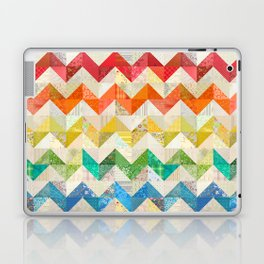 Chevron Rainbow Quilt Laptop & iPad Skin