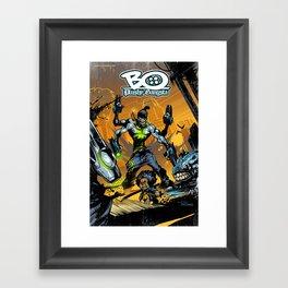"""Bo: Plushy Gangsta #2 Cover """"Moving in silence p1"""" Framed Art Print"""