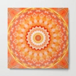Mandala positive Energy Metal Print