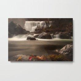 Middle Falls Metal Print
