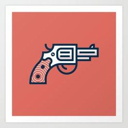 Thus Always to Tyrants: Gunsmoke Edition Art Print
