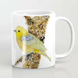 Yellow Warbler Tilly Coffee Mug
