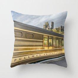 Pullman Observation Car Throw Pillow