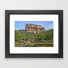 The Lion's Rock Framed Art Print